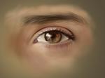Painting an eye... by Scheherazade2c