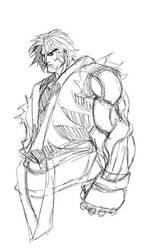 Sketch Ken Masters