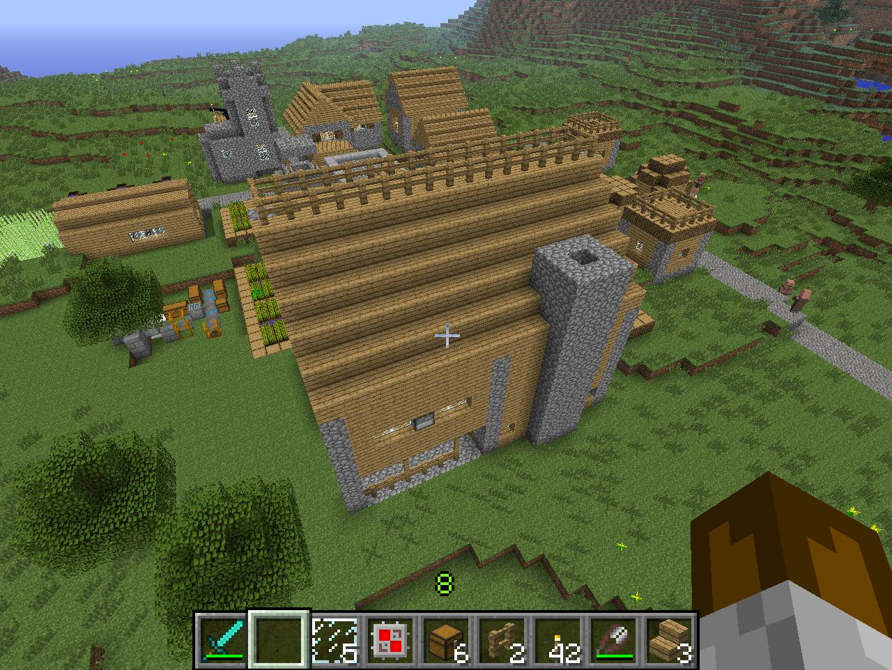 Minecraft - Background Information! Minecraft_screenshots_small_inn_pt1_by_falcon01-d5klz3t