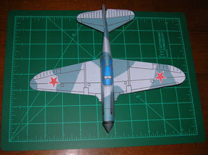 Lagg3 built paper model