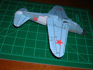 lagg 3 paper model build up - bottom view