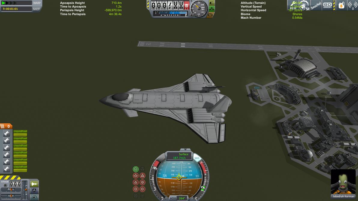 KSP F-19(Testors version) by falcon01