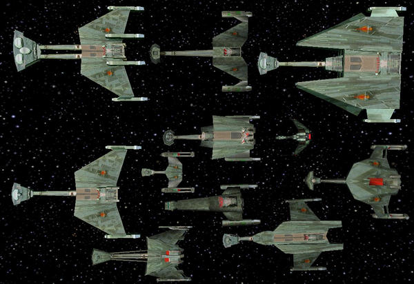 Star Trek Armada 2 Klingons by falcon01