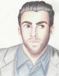 Zachary Quinto by Oribichan94