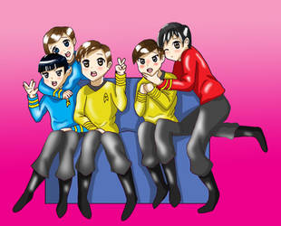 Trek-On! by Oribichan94