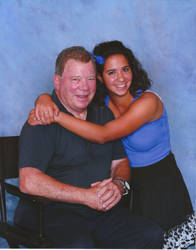 Me and William Shatner by Oribichan94