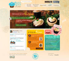 Miss Cupcakes Website by drarock