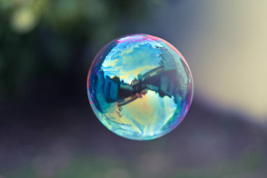 Some reflection in the bubble