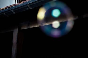 Unfocused bubble