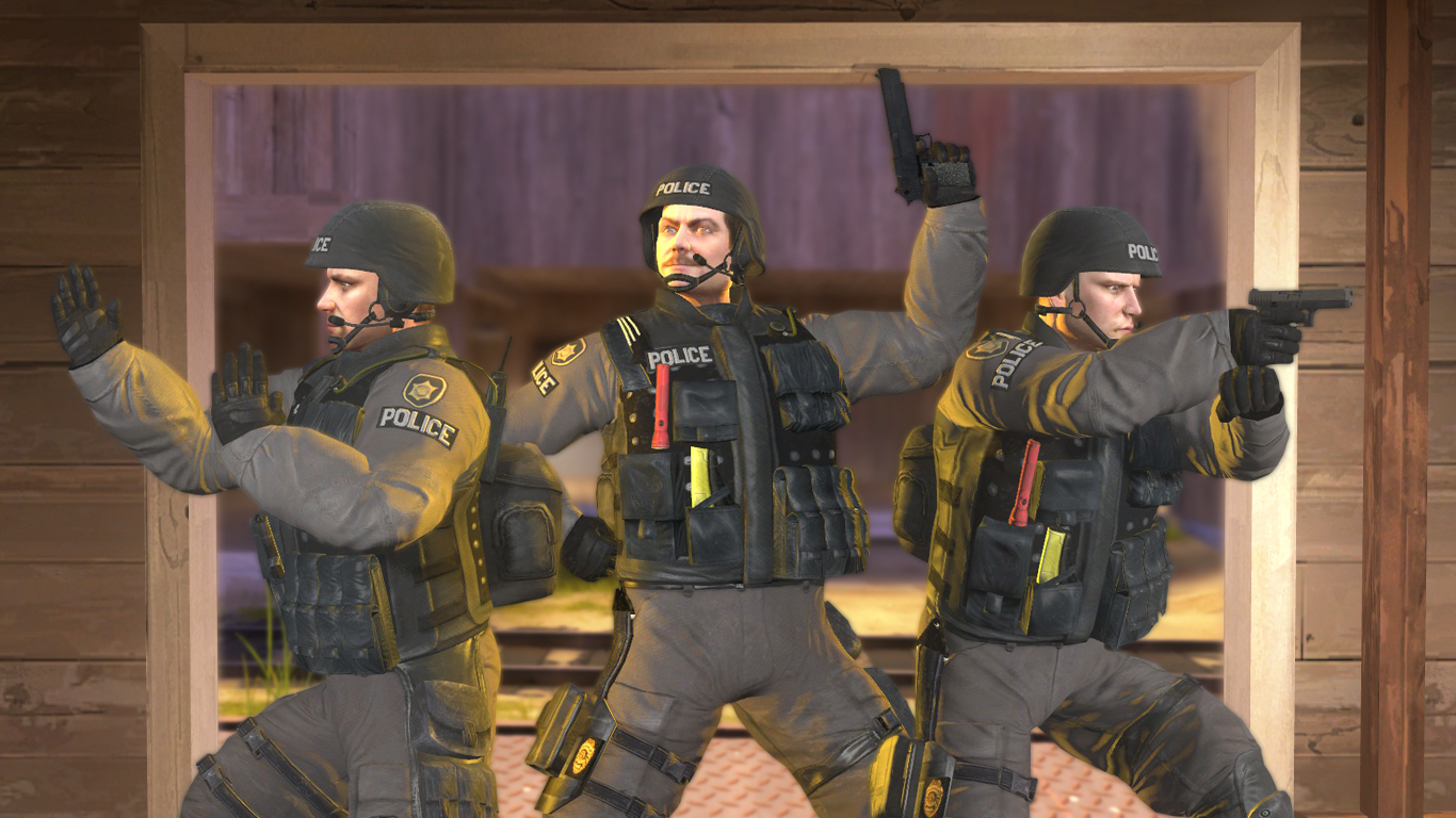 GMod csgo SWAT by TheMegarinat