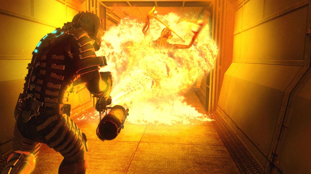 GMod Dead Space 2hot4u by TheMegarinat