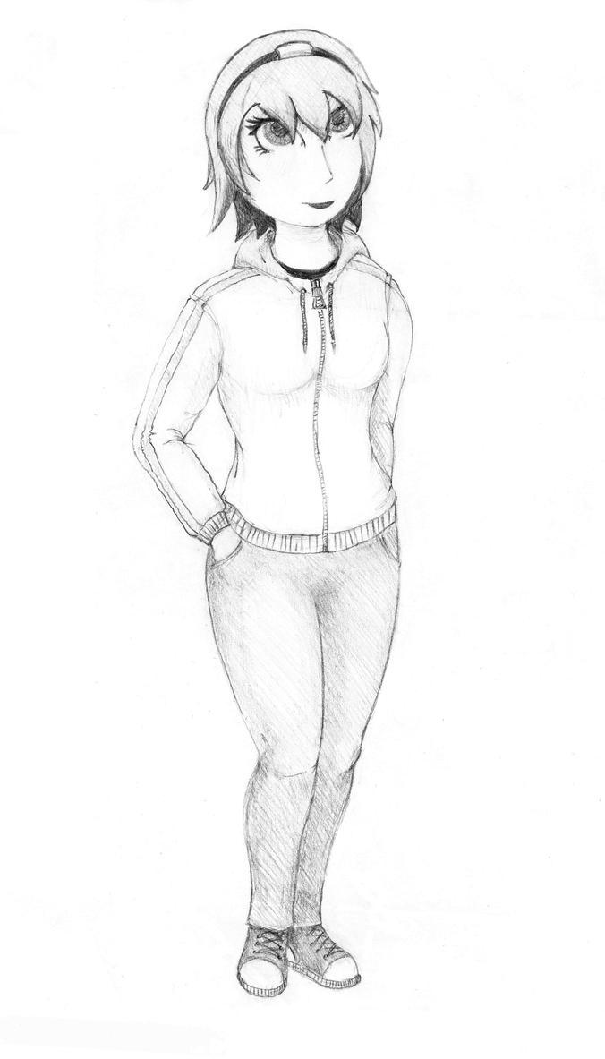 Girl3 by TheMegarinat