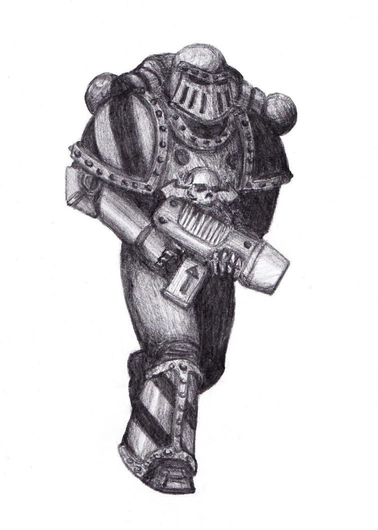 Iron Warrior by TheMegarinat