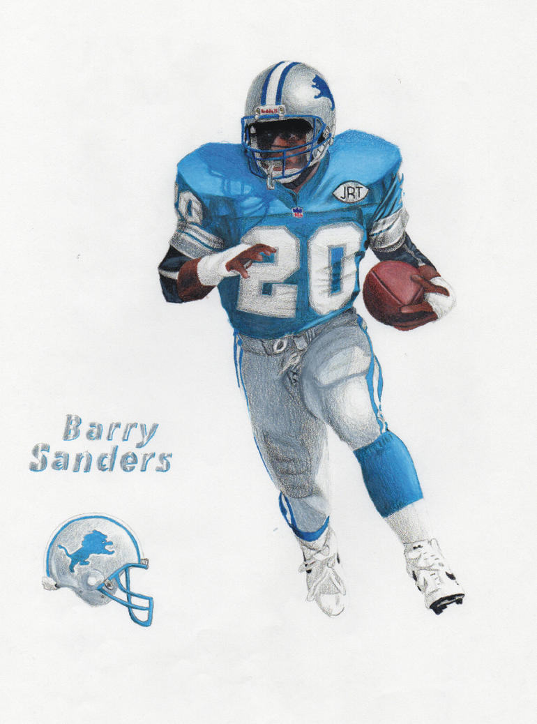 Barry Sanders II By Travisself