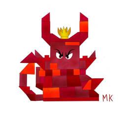 Queen Watevra Wa-Nabi angry