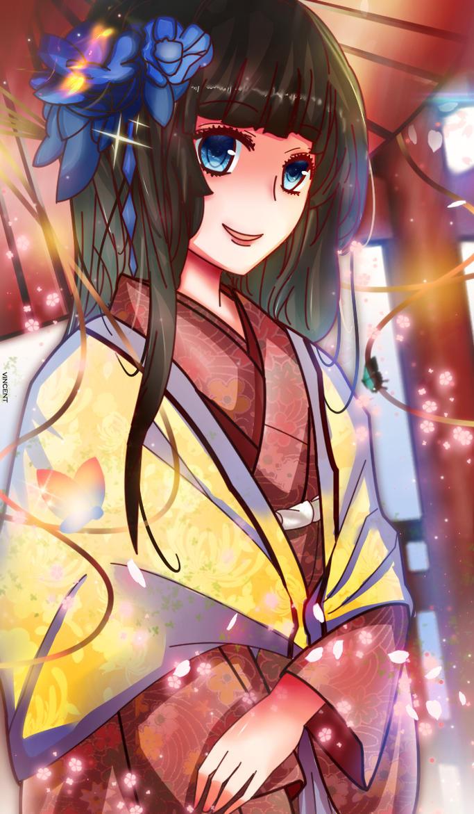 Kimono by VinceDeNighthawk