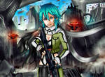 Shinon sword art online 2