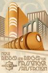 Gotham Metro - Now Ribbed