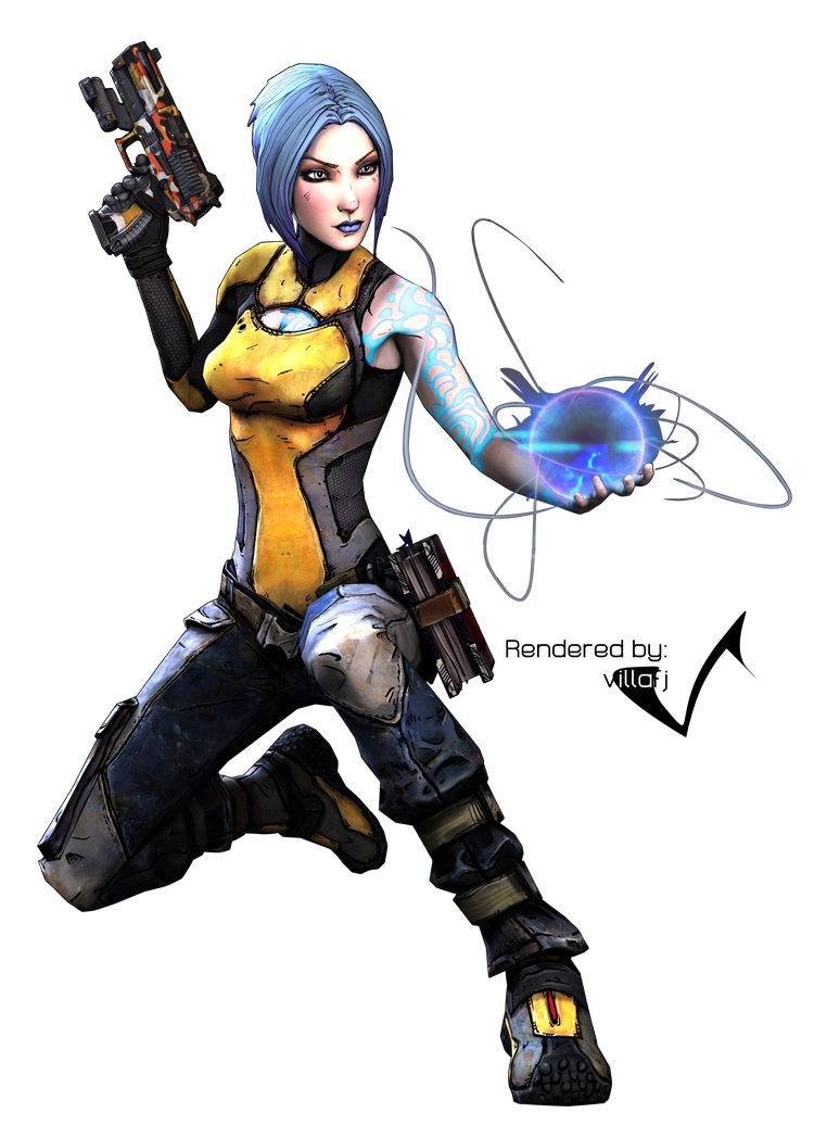 Borderlands 2: Maya Render by villafj on DeviantArt