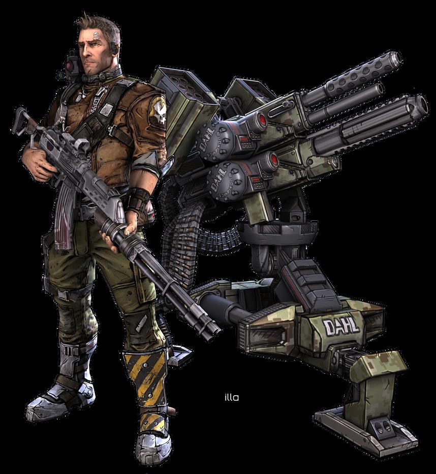 Borderlands  Commando Builds Solo