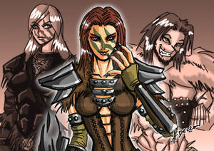 Tooth and Claw: Aela and her Parents