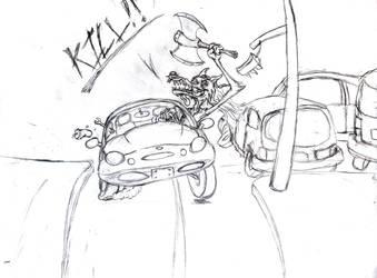 Road Rage by LarcenVII