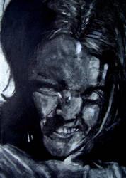Erased Self-Portrait by LarcenVII