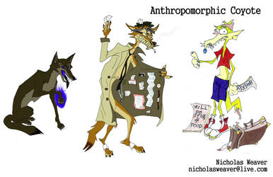 Oppan Coyote Style x 3 by LarcenVII