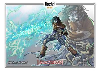 Legacy of Kain - WIP - Raziel by Destybox