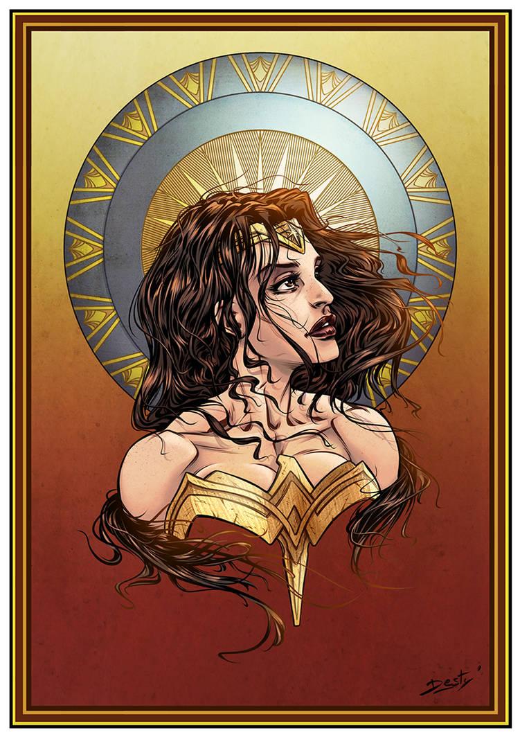 Wonder Woman by Destybox