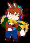 Fox Mascot by RayanDante
