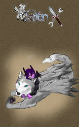 Kanaeo and Wolf by RayanDante