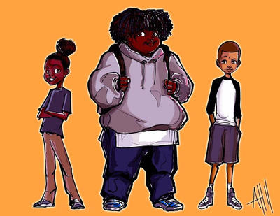 kid character study by ArmaniStyles