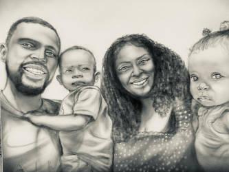 Family Portrait Tonal Study