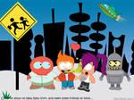 Futurama- South Park Style