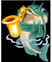 Saxophone Catfish by femjesse