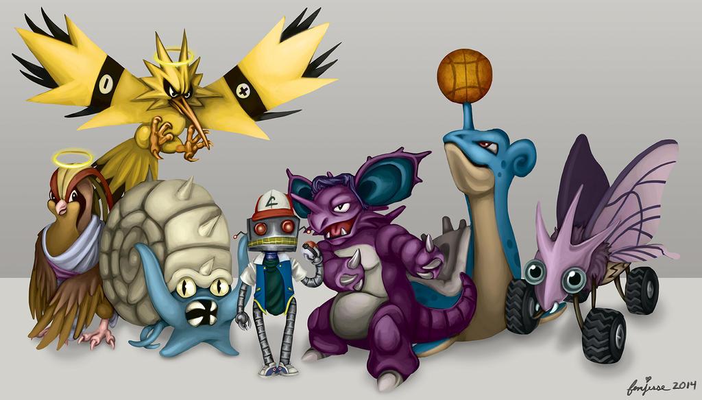 Twitch Played Pokemon by femjesse