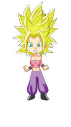 Caulifla super sayayin v.2 by Drawmanex