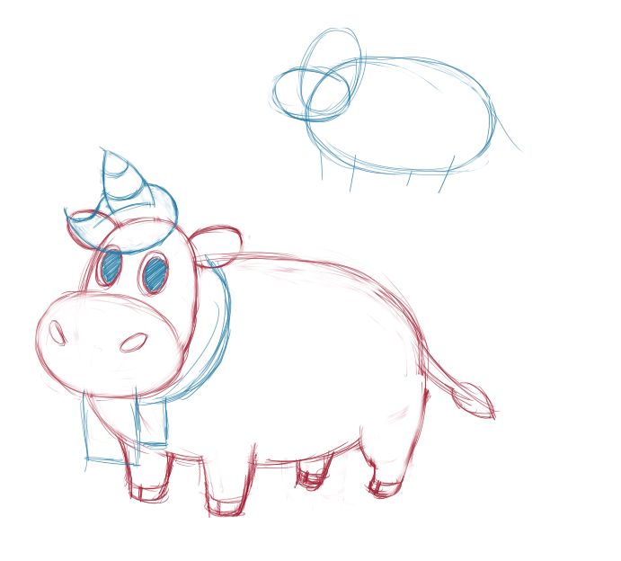 Moonicorn Concept WIP by GysKing1