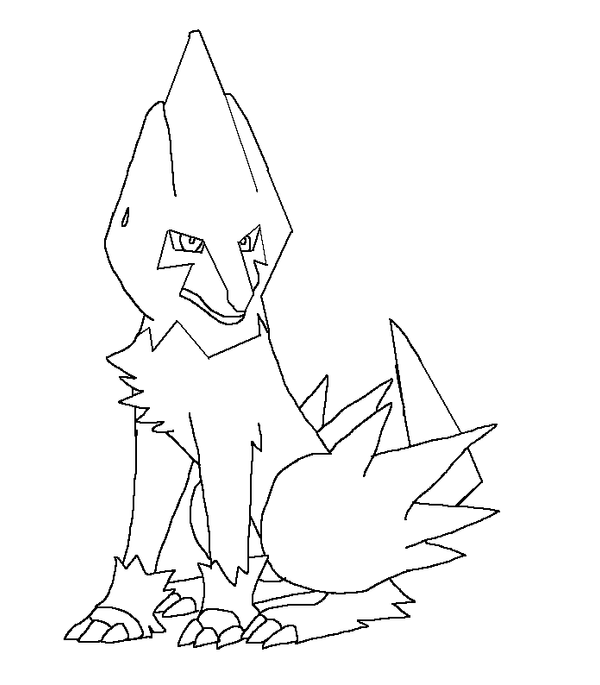 Manetric Pokemon Coloring Pages