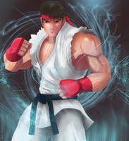 Ryu - Street Fighter by Anleg