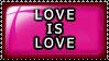 Stamp: Love is Love by 8manderz8