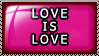 Stamp: Love is Love by 8manderz8