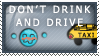 Stamp: Don't Drink and Drive by 8manderz8