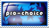 Stamp: Pro Choice 1 by 8manderz8