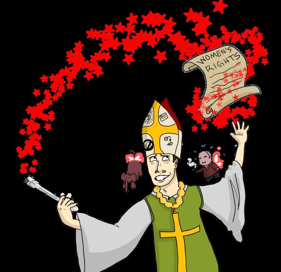 Comic: Santorum's Magic Trick by 8manderz8
