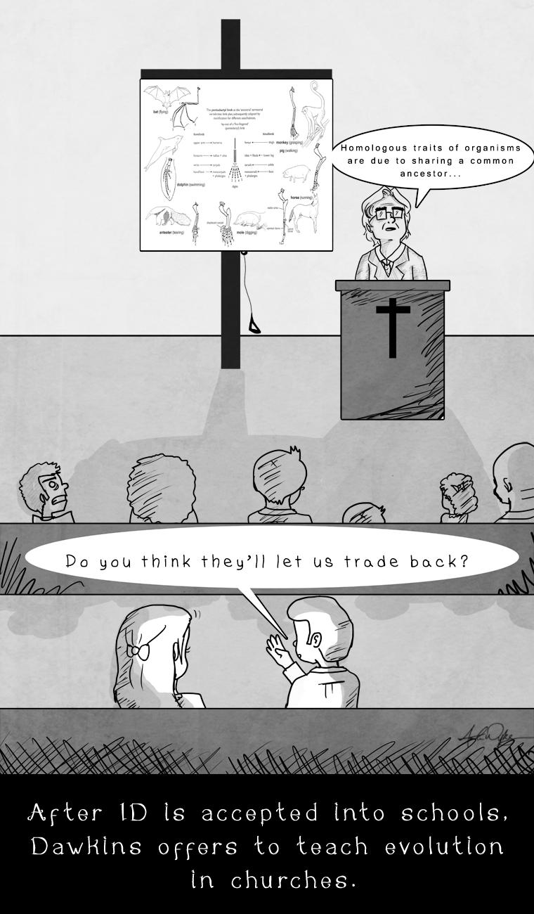 Comic: Evolution in Church by 8manderz8