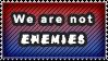Stamp: Enemies Among US by 8manderz8