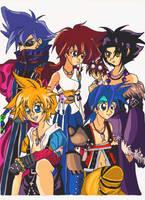 Beyblade Fantasy by Evilchildren