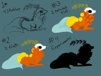 Free Esk Art requests - Pick The Style - Open by honey-fern